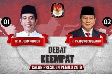 Debat Pilpres ke-4 2019
